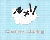 Custom listing for Pat M.