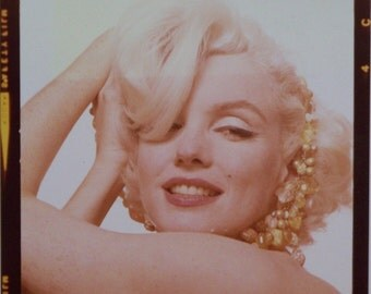 Bert Stern Original  Photograph Of Marilyn Monroe From The Last Sitting