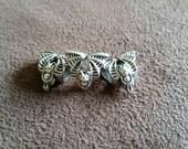 Cute Bat European Charm Beads 3x