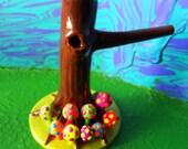 Trippy Hippie Tree Trunk shroom tobacco pipe