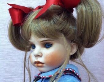 Hannah Rose, Porcelain Finished Child Doll
