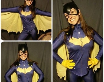 New 52 Batgirl Costume redesign top and leggings