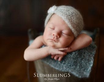 Newborn turban hat Newborn mohair hat Newborn photo prop 75 colours