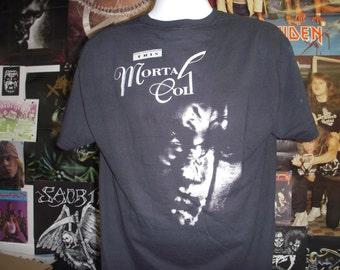 This Mortal Coil T-shirt (FREE SHIPPING in the Usa only) Cocteau Twins Dead Can Dance Xmal Deutschland 4AD Dif Juz Goth Shoegaze Post-punk