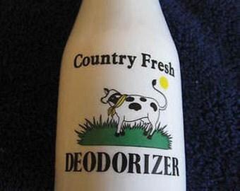 White Porcelain Shaker Bottle 6 inches CL1-11