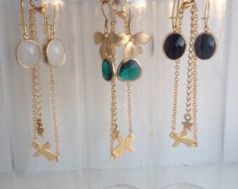 Set - bracelet and earrings