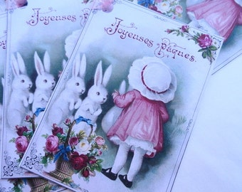 Easter Gift Tags Set of 8