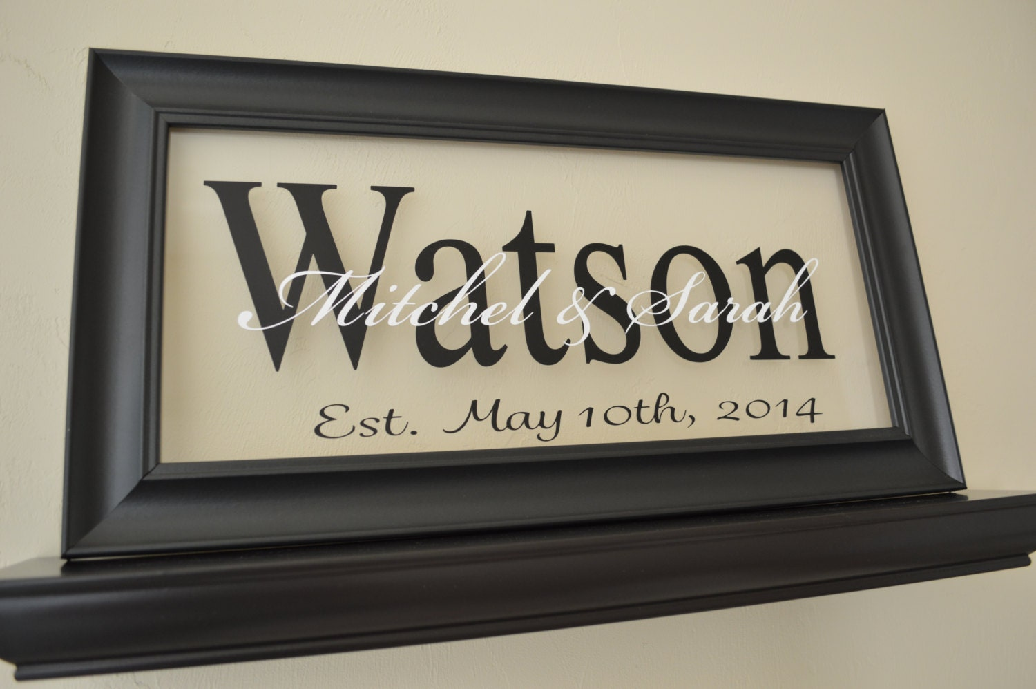 Wedding Gift Signs: Personalized Wedding Sign Wedding Gift Sign Anniversary