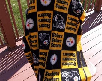 Pittsburgh Steelers Fleece Blanket