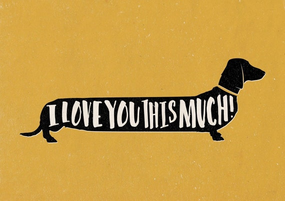 I love you this much dogs - photo#14