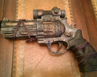 STEAMPUNK gun, Revolver MK.1, pistol ! For cosplay