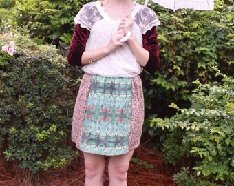 Tightrope Girl Stretching Portrait Skirt (Haunted Mansion)