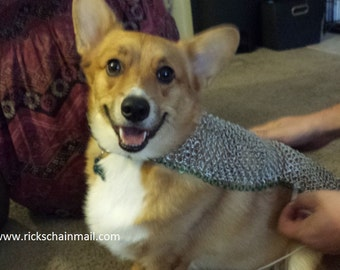 Custom chainmail for your dog!