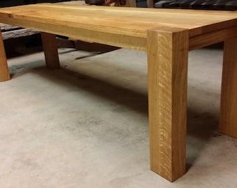 Classic White Oak bench