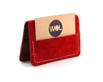 WOL - Scarlet - Credit & Business Card Holder, Wallet