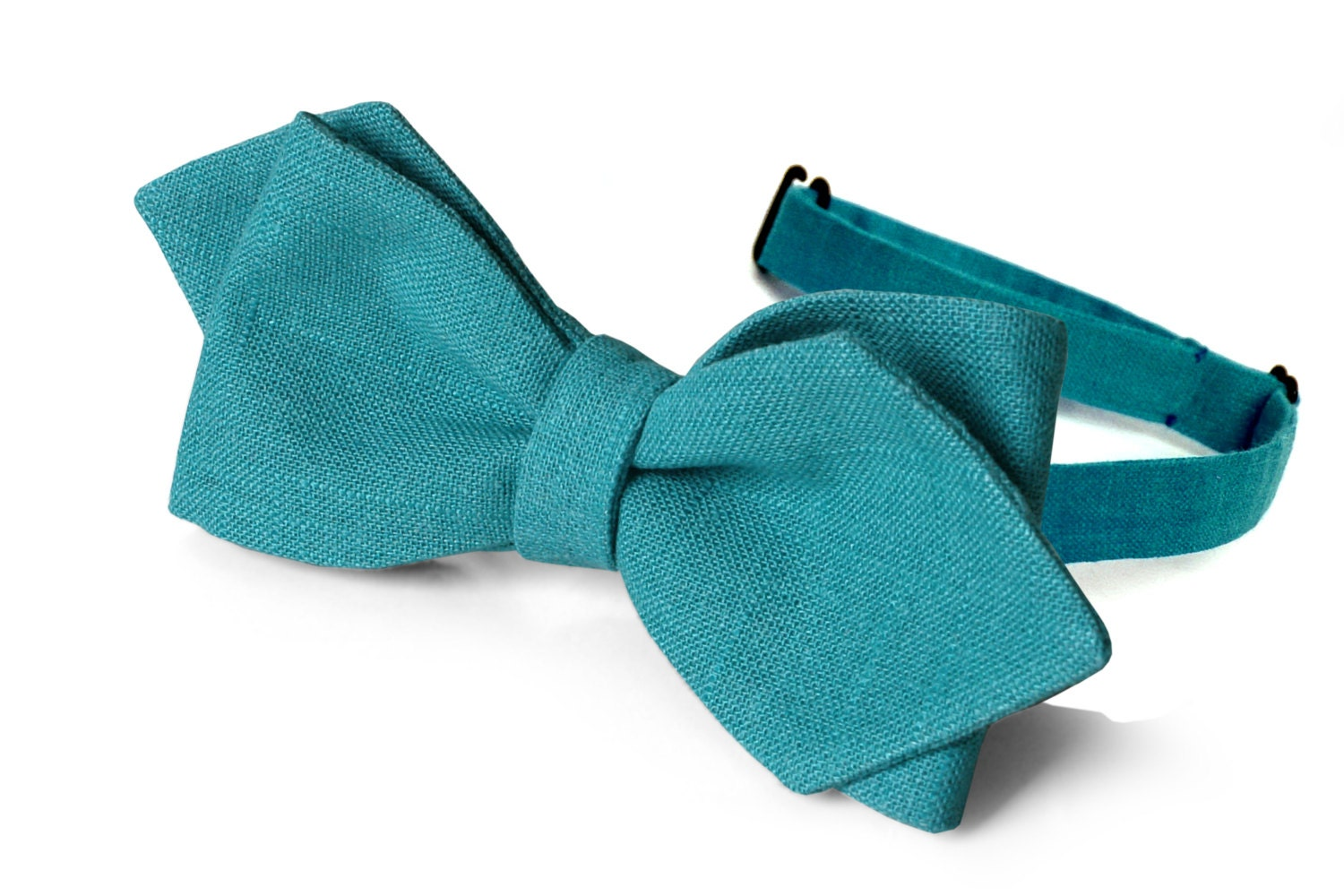 bow tie teal green self tie bow tie teal green classic