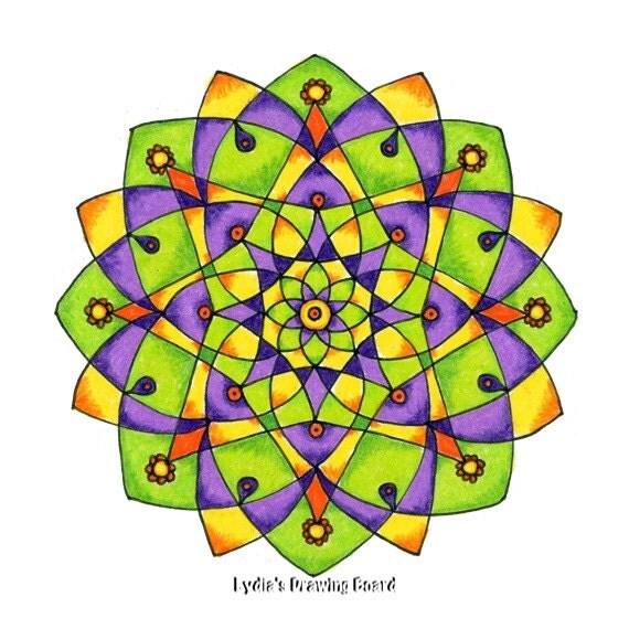 Note Cards, Notecards, Blank Cards, Birthday Card, Thank You Cards, Cards, Mandala Art, Small Art, Mandala, Mandala Print, Sacred Geometry