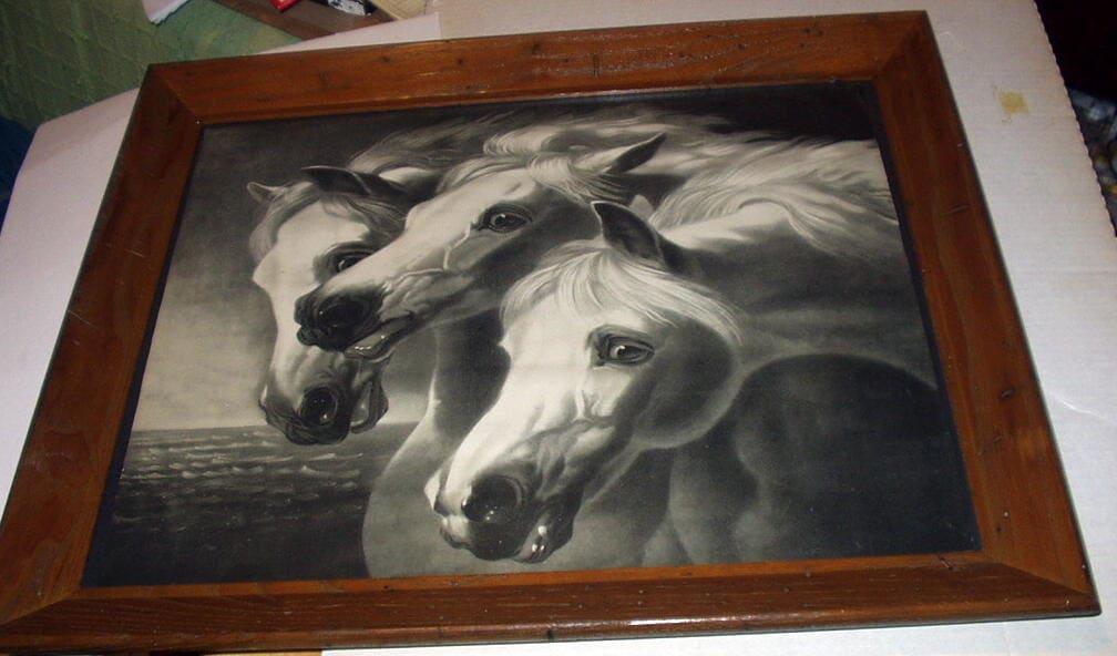 Pharaohs Horses Artist John Fredrick Herring Original Late