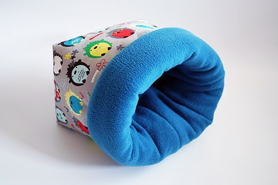 cosy sleeping bag / cuddle sack XXL for guinea pigs, hedgehogs or ...