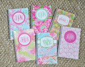 Monogrammed Personalized Palm Beach Journal Notebook