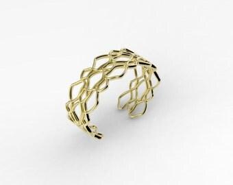 "Ariel Cuff Bracelet - 3/4""wide"