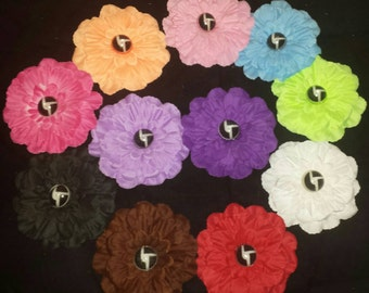 Disco Biscuits Hair Flowers