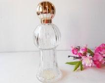 Vintage Avon Perfume Bottle Imperial Garden 1973