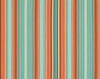 Amy Butler Fabric Belle Oxford Stripe in Blue 1 yard