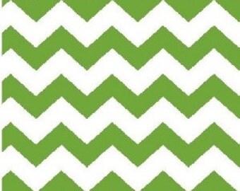 1/2 inch Chevron --- Kelly Green Chevron --- Kelly Chevron -- Small Chevron --- Fabric By The Yard
