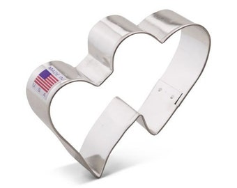Two Hearts Cookie Cutter