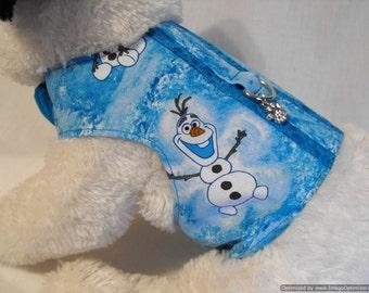Frozen Olaf harness