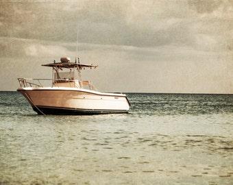 Boat Photography - Ocean Art - Water - Nautical Decor - Wall Art