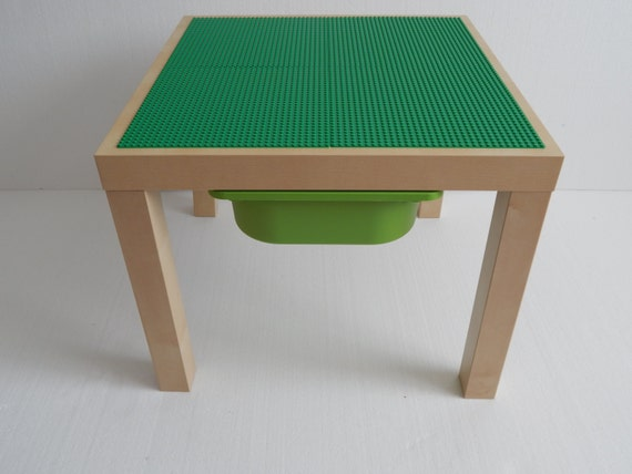 les enfants lego table avec rangement 20 x 20 grande. Black Bedroom Furniture Sets. Home Design Ideas