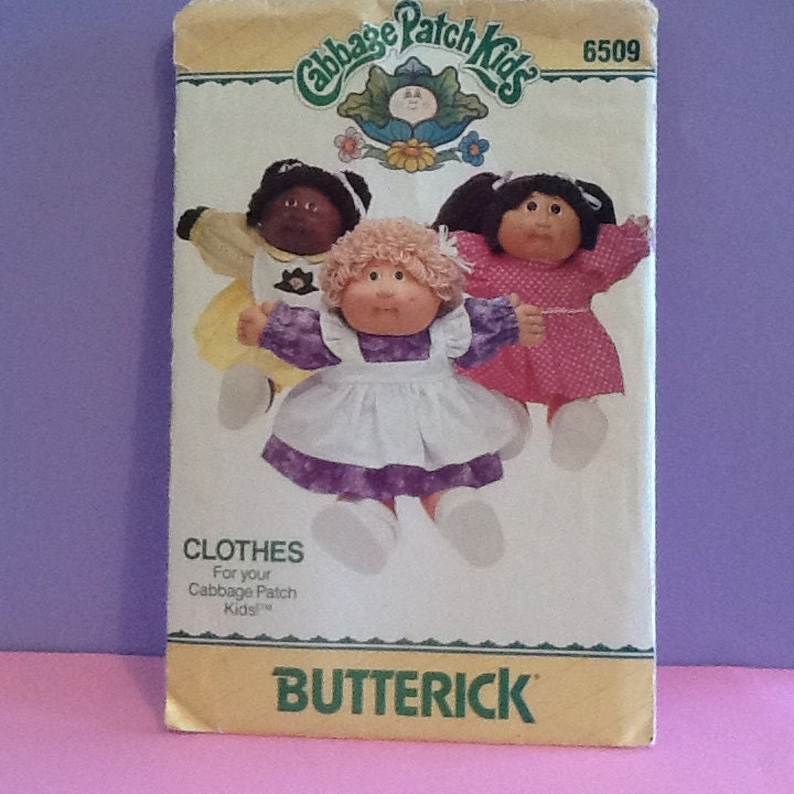 cabbage patch clothes sewing pattern by mellowdiemod
