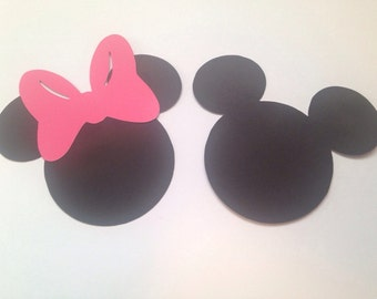 Mickey and Minnie Die Cuts
