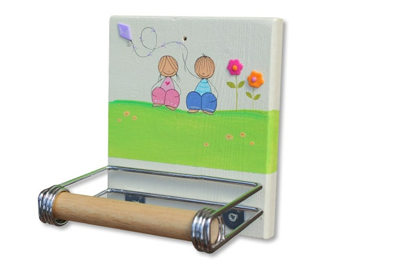 Toilet paper holder bathroom decor kids by Kids toilet paper holder