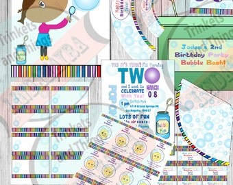 Bubble Theme Birthday Party Package! Diy
