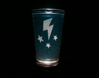 Lightning Dust Cutie Mark - Pint Glass