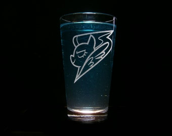 Wonder Bolts Emblem - Pint Glass