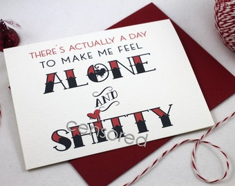 Adult Valentine / Anti-Valentine's Day Card