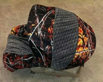 Moonshine Wildfire Infant Baby Car Seat Cover