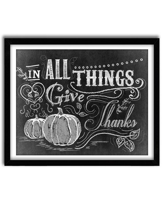 Items similar to Thanksgiving Decor, Thanksgiving Art ...