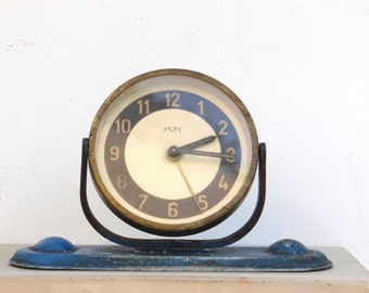Vintage Mechanical Alarm Clock - Made in Hungary - MOM