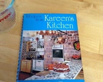 Kareen's Kitchen Cookbook -  Kareen  Zebroff 1976