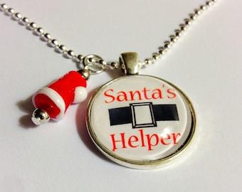 Santa's Helper Necklace
