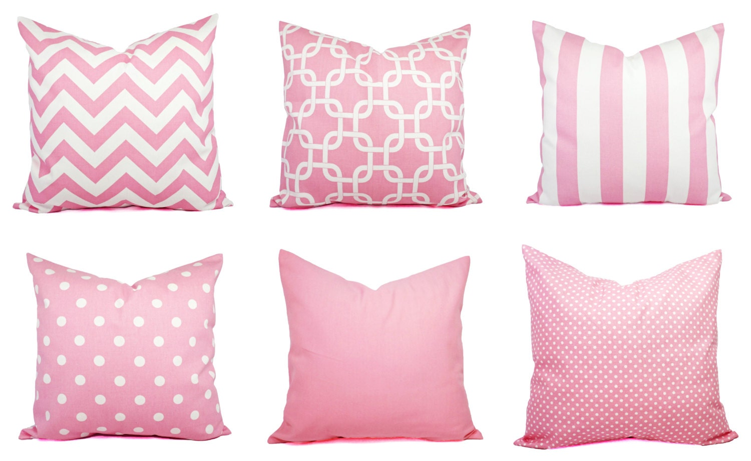 Baby Pink Decorative Pillows : One Baby Pink Throw Pillow Decorative Throw by CastawayCoveDecor