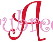 Custom Name Embroidery File for use in 4x4 or 5x7 size. Digital file for stitching!