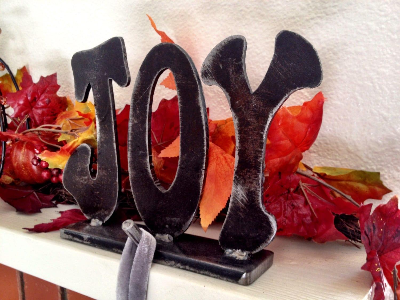 joy christmas stocking hook stocking hanger fireplace mantle. Black Bedroom Furniture Sets. Home Design Ideas