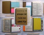 Destroy me, Smash me, Ruin me, Wreck me- SMASH BOOK - 5 x 7 inch
