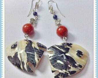 Shell earrings 'pescaditos'